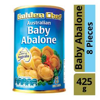 Golden Chef Australian Baby Abalone (8 Pieces)