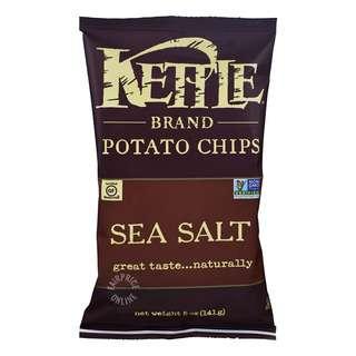 Kettle Brand Potato Chips - Sea Salt