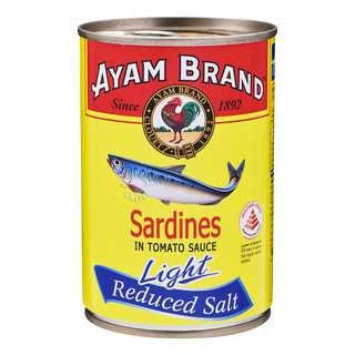 Ayam Brand Sardines in Tomato Sauce - Light