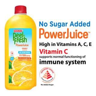 Marigold Peel Fresh Bottle Juice - Orange (No Sugar)