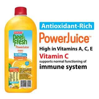 Marigold Peel Fresh Bottle Juice - Orange