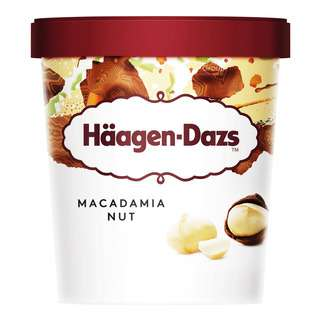 Haagen-Dazs Ice Cream - Macadamia Nut