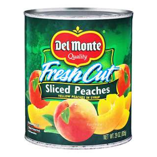Del Monte Fresh Cut in Syrup - Sliced Yellow Peaches