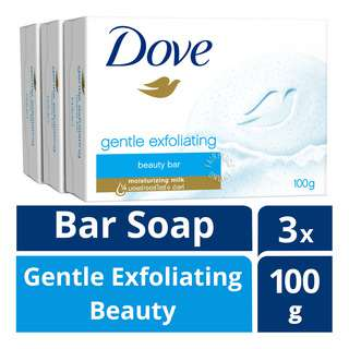 Dove Bar Soap - Gentle Exfoliating Beauty