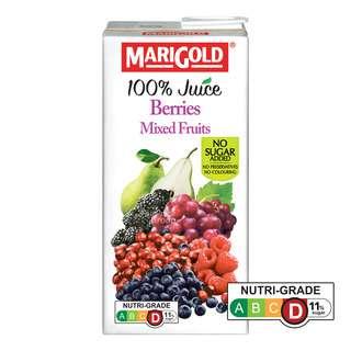 Marigold 100% Packet Juice - Berries Mixed Fruits