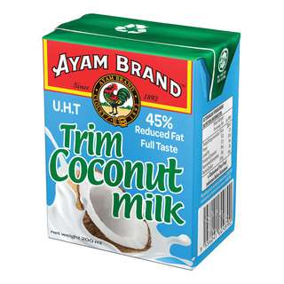 AYAM BRAND TRIM COCONUT MILK 200ML