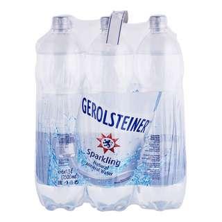 Gerolsteiner Sparkling Natural Mineral Bottle Water