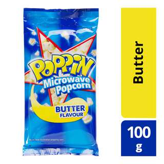 Poppin Microwave Popcorn - Butter
