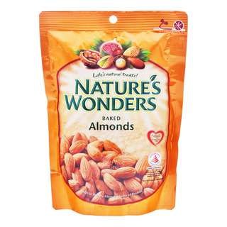 Nature's Wonders Baked Nuts - Almond