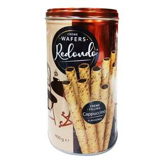 Redondo Cream Wafers - Cappuccino