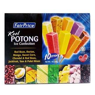 FairPrice Kool Potong Ice Cream - Assorted