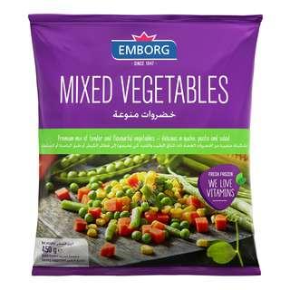 Emborg Frozen Mixed Vegetables