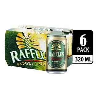 Raffles Export Lager Can Beer