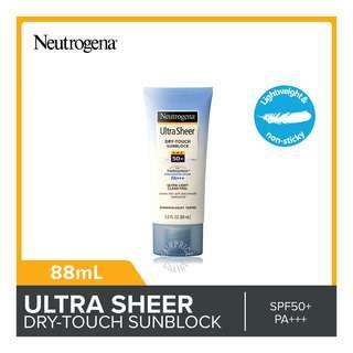 Neutrogena Dry-Touch Sunblock - Ultra Sheer (SPF50+)