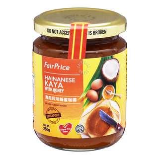 FairPrice Hainanese Kaya with Honey