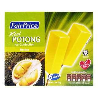 FairPrice Kool Potong Ice Cream - Durian