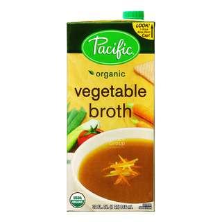 Pacific Organic Broth - Vegetable