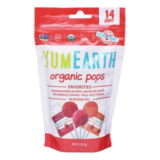 Yum Earth Organics Lollipops - Assorted