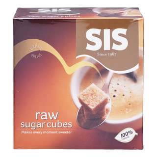 SIS Raw Sugar - Cubes (Box)