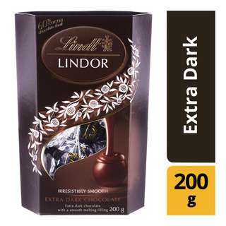 Lindt Lindor Cornet Chocolate Balls - Extra Dark