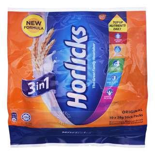 Horlicks 3 in 1 Instant Malted Drink - Original