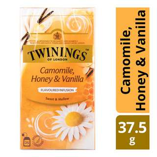 Twinings Flavoured Infusion Teabags - Camomile, Honey & Vanilla