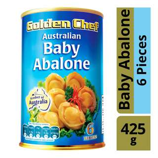 Golden Chef Australian Baby Abalone (6 Pieces)