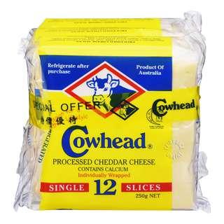 Cowhead Cheese Slices - Cheddar