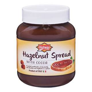 Highway Chocolate Hazelnut Bread Spread
