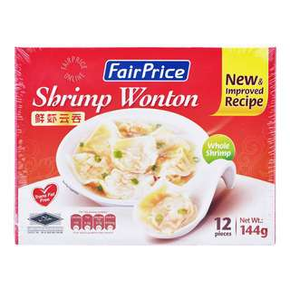 FairPrice Frozen Whole Shrimp Wonton