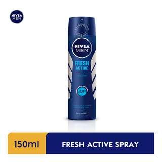 Nivea Men Deodorant Spray - Fresh Active