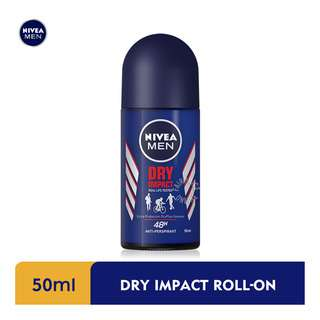 Nivea Men Roll-On Deodorant - Dry Impact Plus