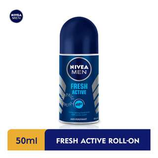 Nivea Men Roll-On Deodorant - Fresh Active