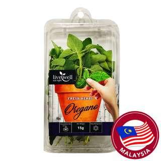 Live Well Fresh Herbs - Oregano