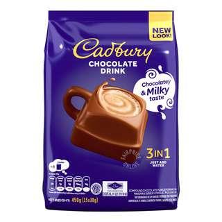 Cadbury 3 In 1 Hot Chocolate Drink