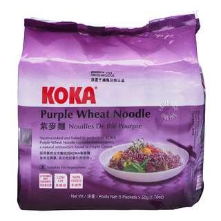 Koka Instant Purple Wheat Noodles - Plain