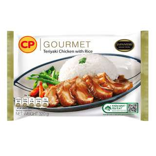 CP Gourmet Ready Meal - Teriyaki Chicken with Rice