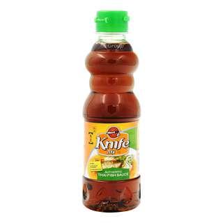 Knife Brand Thai Fish Sauce - Reduced Salt
