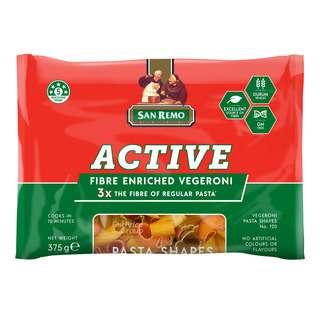 San Remo Pasta - Vegeroni Shapes
