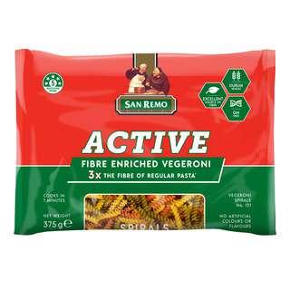 San Remo Pasta - Vegeroni Spirals