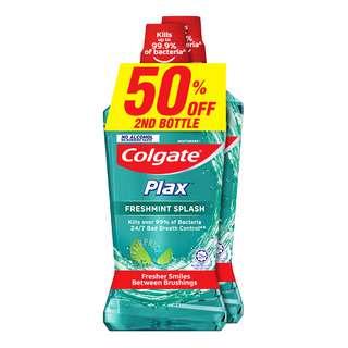 Colgate Plax Mouthwash - Freshmint Splash