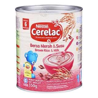 Nestle Cerelac Infant Cereal - Brown Rice & Milk (6 Months)