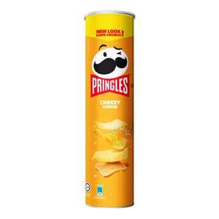 Pringles Potato Crisps - Cheesy Cheese