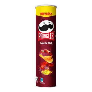 Pringles Potato Crisps - Saucy BBQ