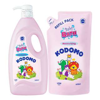 Kodomo Baby Bath with Refill - Moisturizing