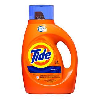 Tide He Turbo Laundry Liquid Detergent - Original Scent