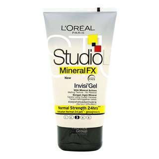 L'Oreal Paris Studio Line Mineral FX Invis'Gel Hair Gel - Normal