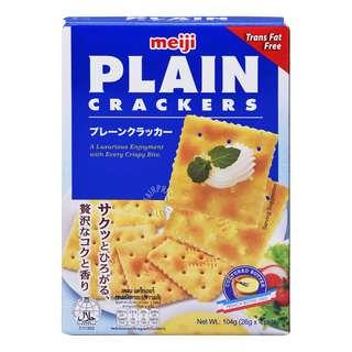 Meiji Plain Crackers - Original