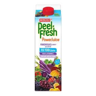 Marigold Peel Fresh Juice - Power Veggie & Fruit (No Sugar)