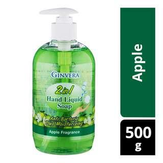 Ginvera 2 in 1 Hand Liquid Soap - Apple